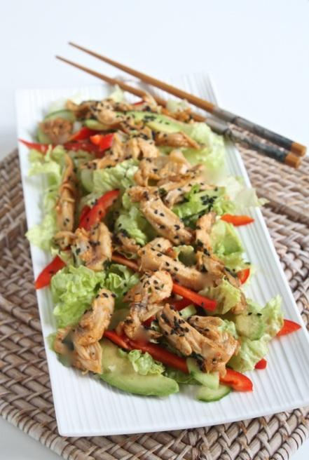 Siltie vistas salati Azijas gaume - 27