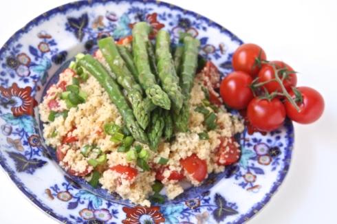 Spargelu salati ar kuskusu - 33